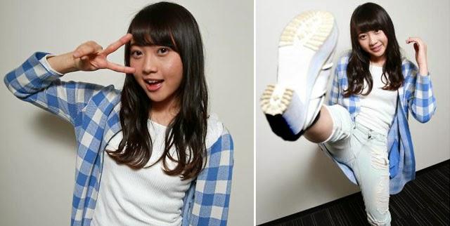 Kizaki-Yuria-Sangat-Ingin-Menjadi-Artis-Action