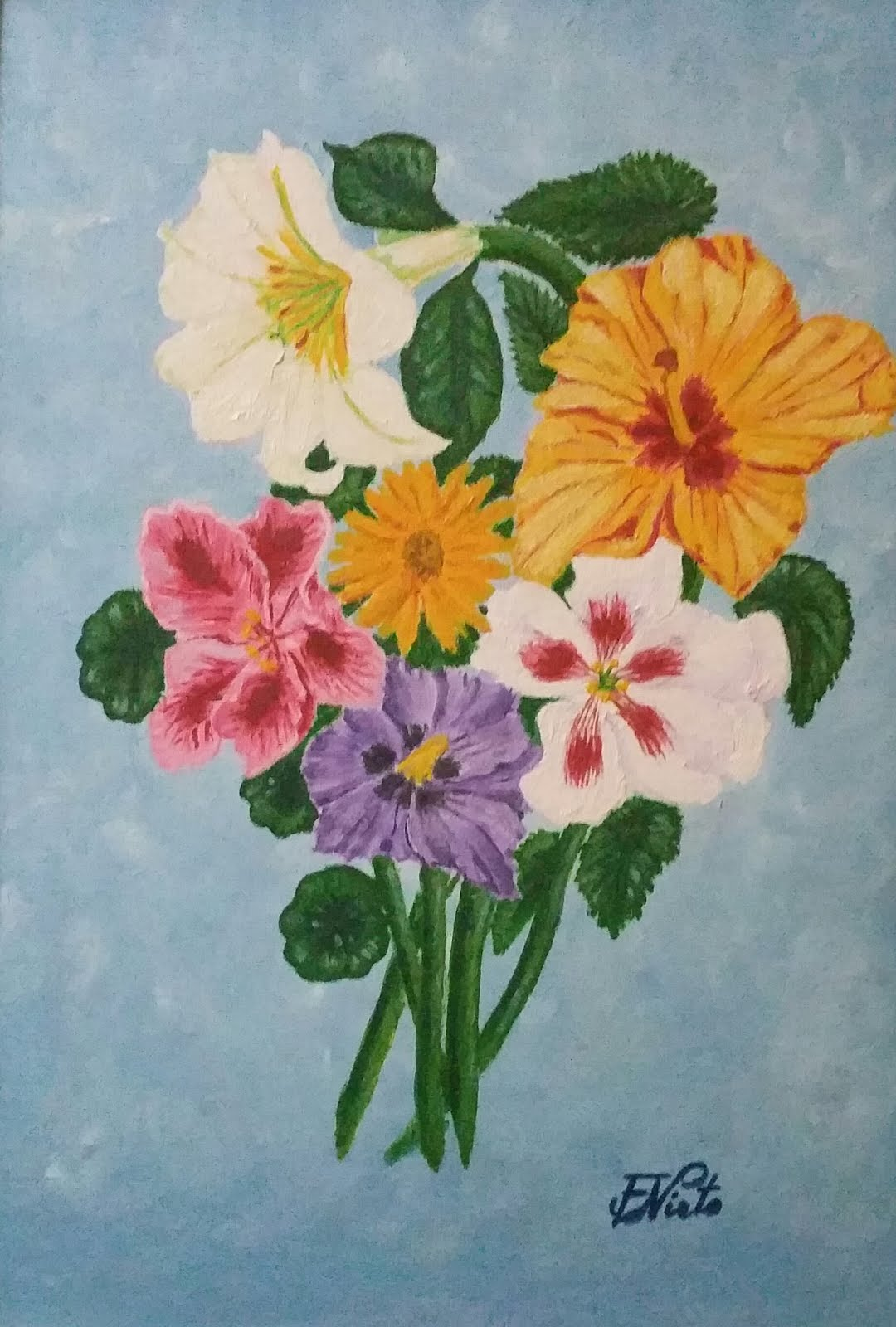 Flores de jardín 1