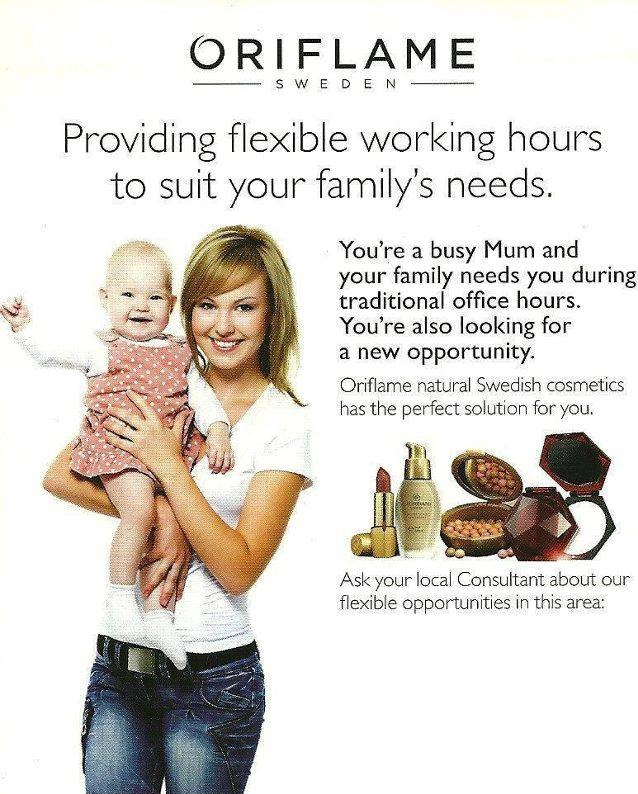 join oriflame today oriflame flexible home based work for