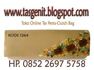 tas pesta gold, clutchbag, clutch bag online shop