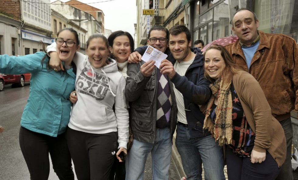 El Gordo de la Lotería del Niño cae en Monforte de Lemos