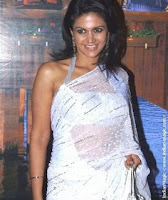 Mandira Bedi in White Saree