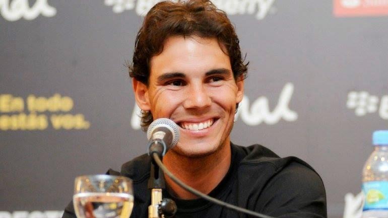 Rafa Nadal Smilling Pics