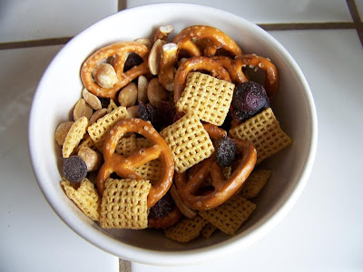 Homemade snack mix