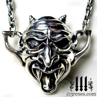 gargoyle devil necklace