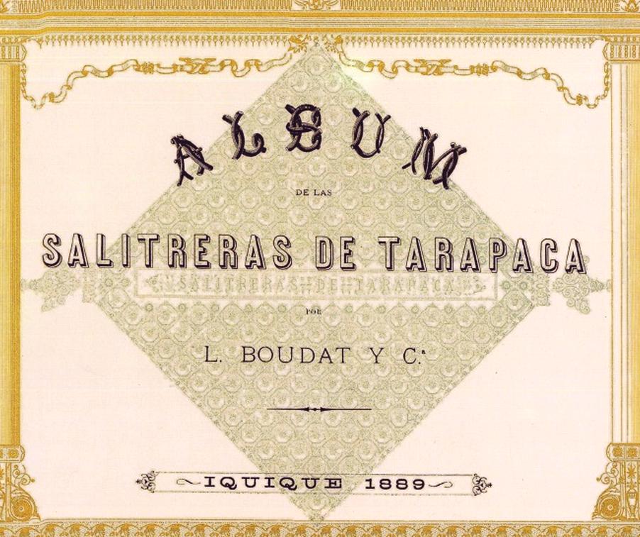 SALITRERAS DE TARAPACA, 1889
