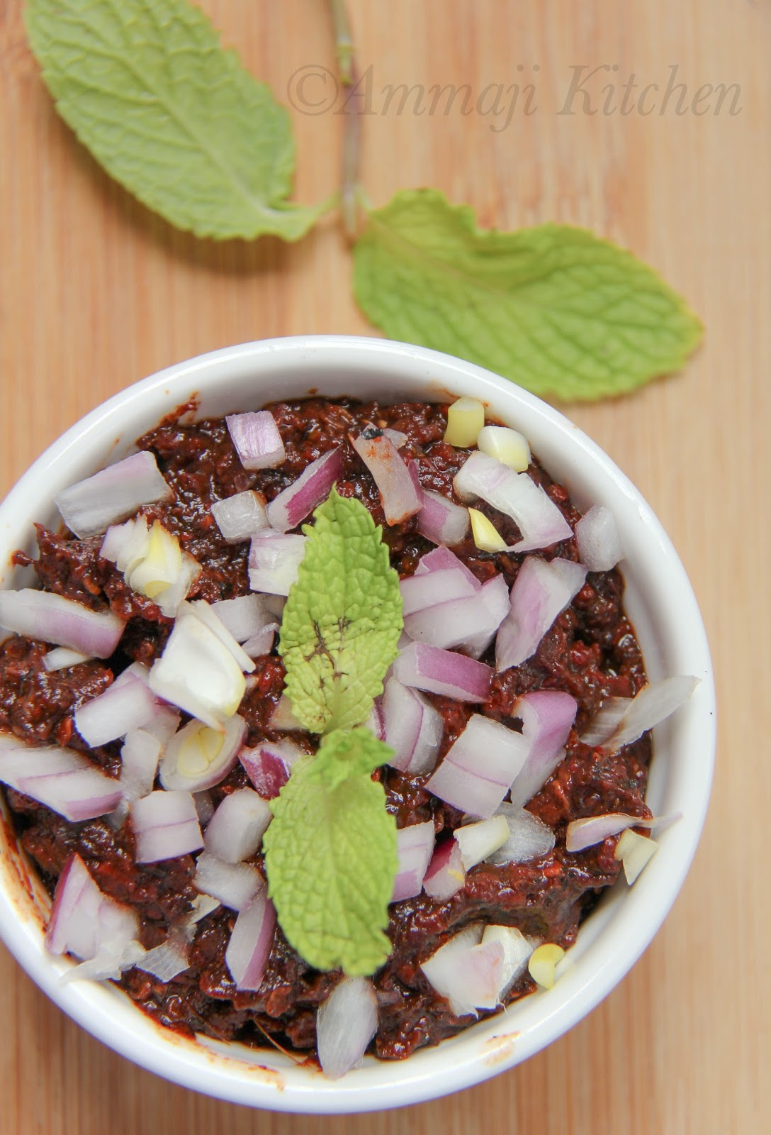 Red Chili Chutney