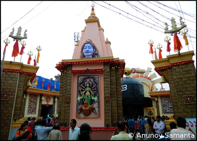 Durga Puja 2015 - Puja Pandals of Durgapur