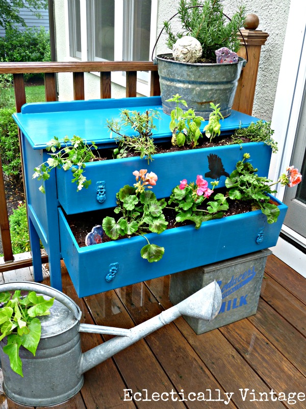 to self garden your watering using with how planters own start vegetable gardening container containers