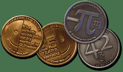 Monedas de Aérica