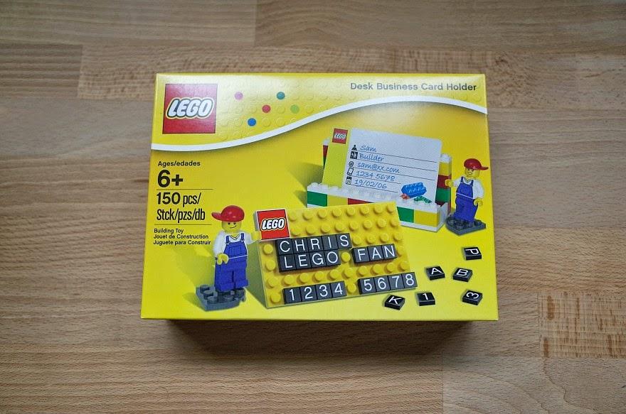 LEGO DESK BUSINESS CARD HOLDER #850425 - Hullabaloo Blog