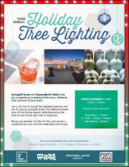 TREE LIGHTING AT SPRINGHILL SUITES