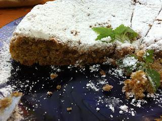 torta estiva limone e mandorle senza derivati del latte e senza glutine