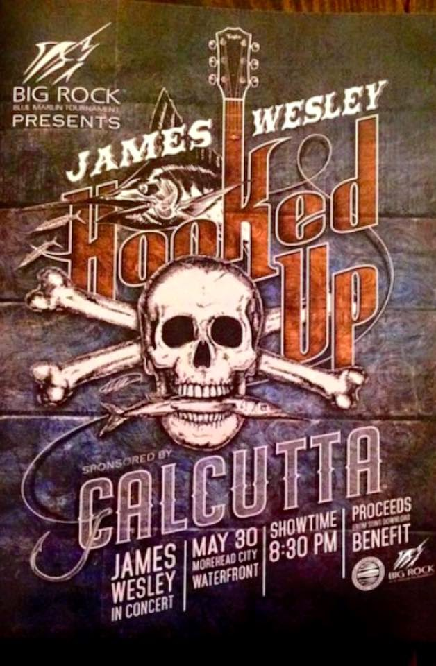 """FEATURE SINGLE - """"HOOKED UP"""", THE THEME OF THE 2015 BIG ROCK MARLIN TOURNAMENT BY JAMES WESLEY"""
