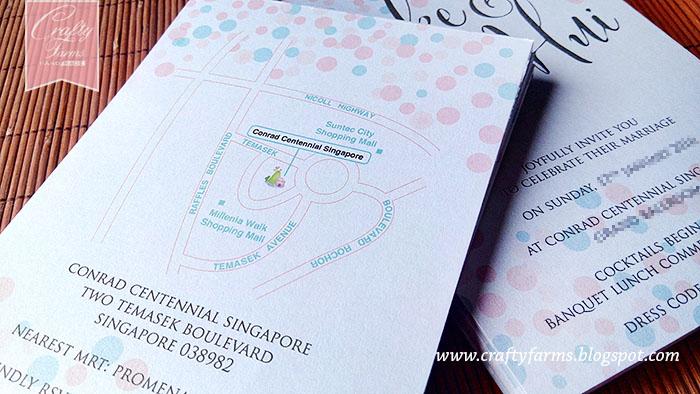 Wedding card malaysia crafty farms handmade pink and mint pink and mint confetti wedding card stopboris Image collections