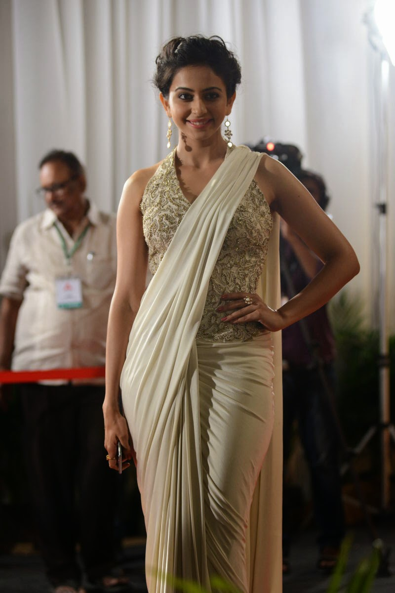 Rakul Preet Singh In Sexy Saree Latest Photos