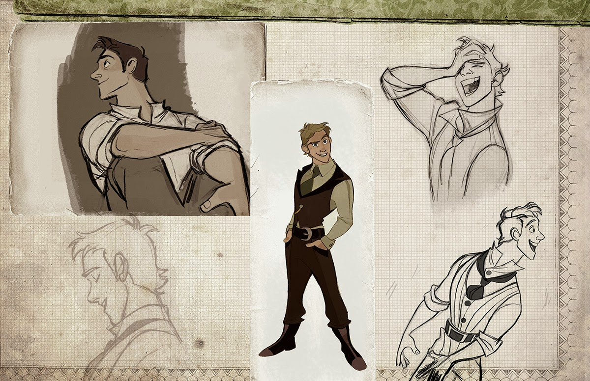 Animation Character Design Artists : Once upon a old animation development art for