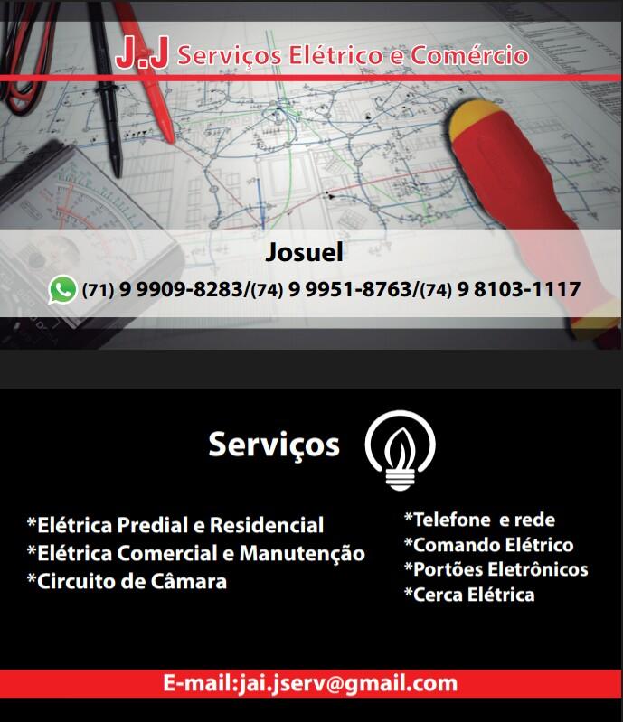 Jacobina e Região: J.J Serviços Elétrico e Comércio