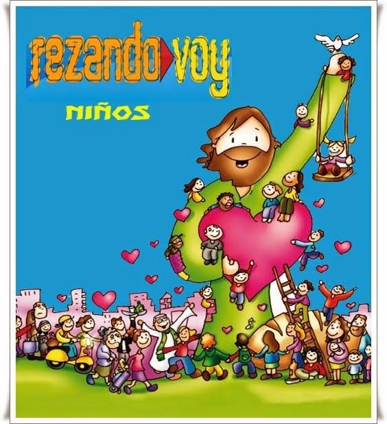 REZANDO VOY NIÑOS