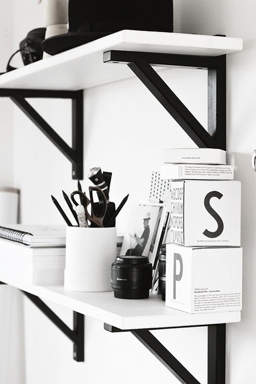 love color decoracin en blanco y negro