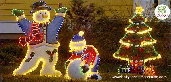 Arquitectura de casas decoraci n de navidad for Adornos navidenos para exteriores