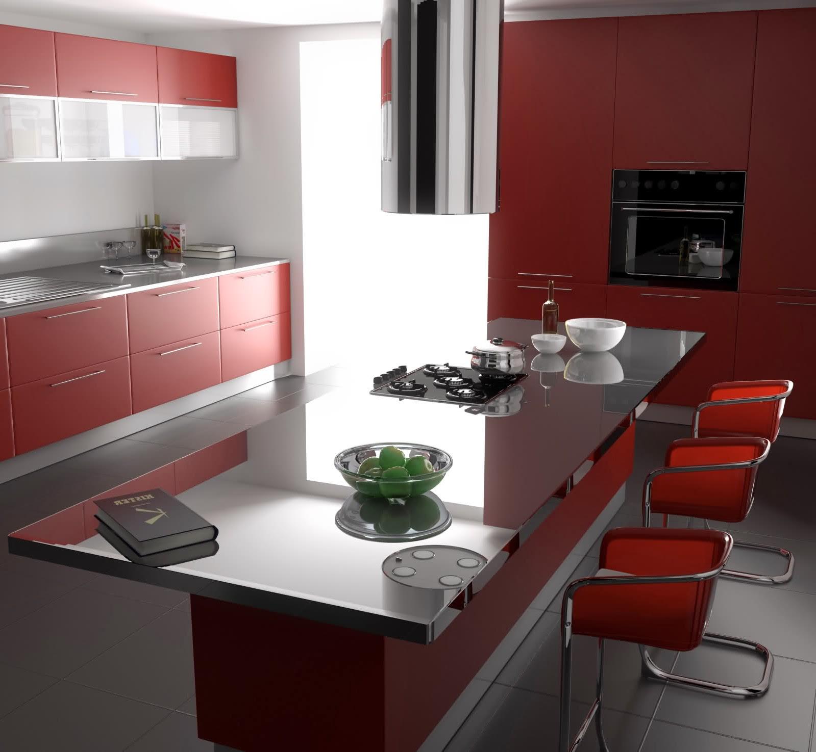 Desain Interior Ruang Makan Modern Untuk Ruangan Kecil