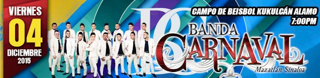 presentaciones Banda Carnaval 2016