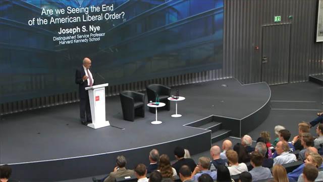 La transición de la hegemonía global, según Joseph Nye (VIDEO 2)
