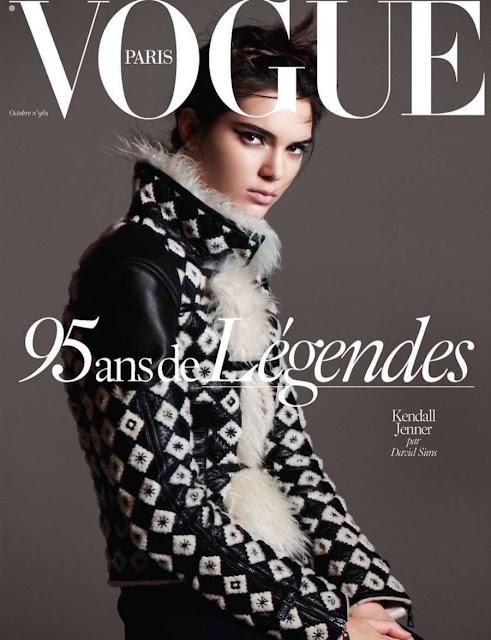 Kendall Jenner Vogue Paris 2015