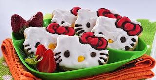 Foto Hello Kitty Cookies Resep Kue Kering Terbaru