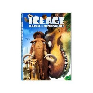 DVD cover for Ice Age: Dawn of the Dinosaurs 2009 animatefilmreviews.blogspot.com