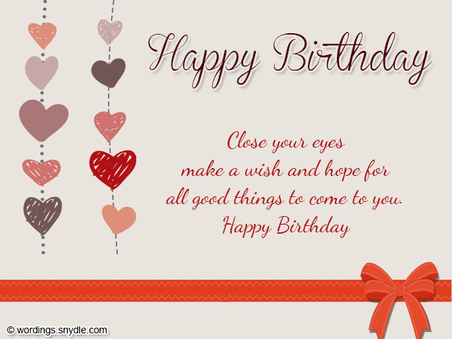 Wishes And Blessing – Birthday Cards for Someone You Love