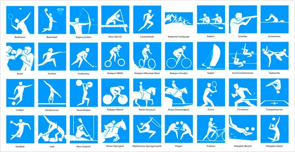 olympische spiele disziplinen