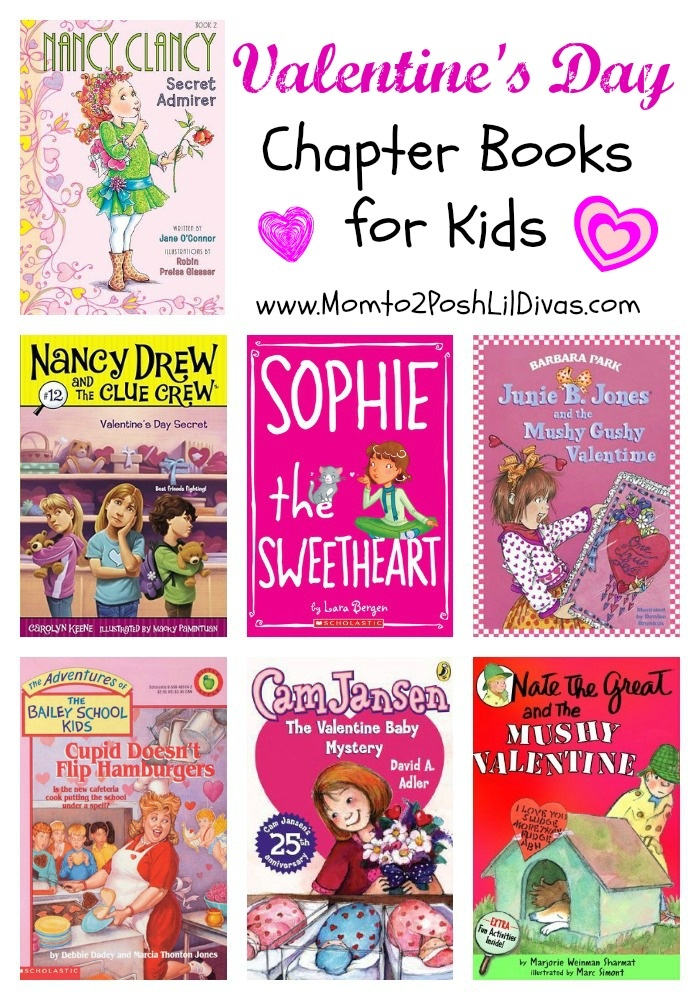 Mom To 2 Posh Lil Divas Valentine S Day Chapter Books For Kids