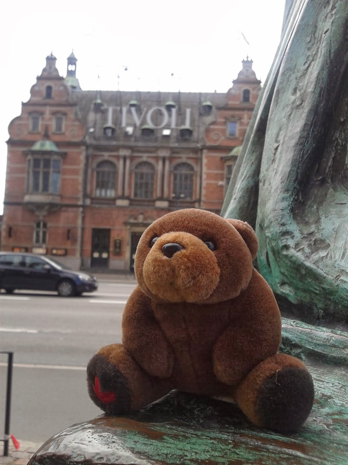 Teddy Bear in Copenhagen