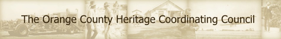 Orange County Heritage Coordinating Council