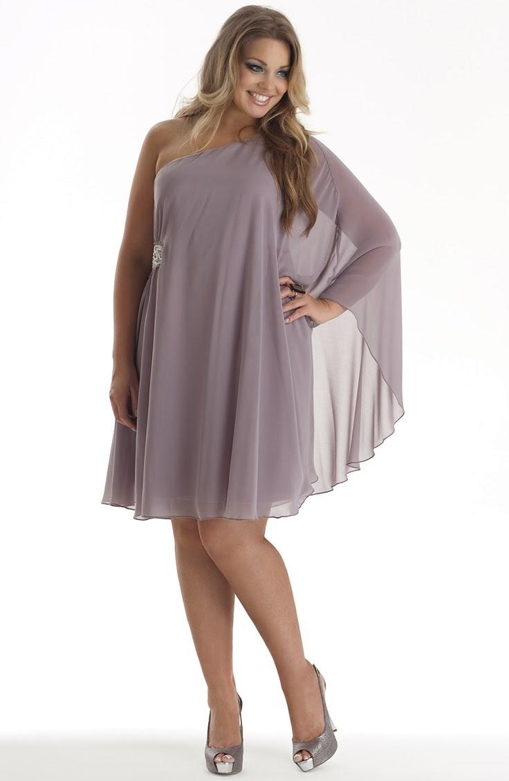 Moda plus size - moda tamanhos vestido fluido