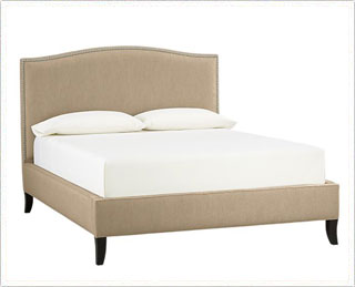 Crate and Barrel - Colette Queen Bed