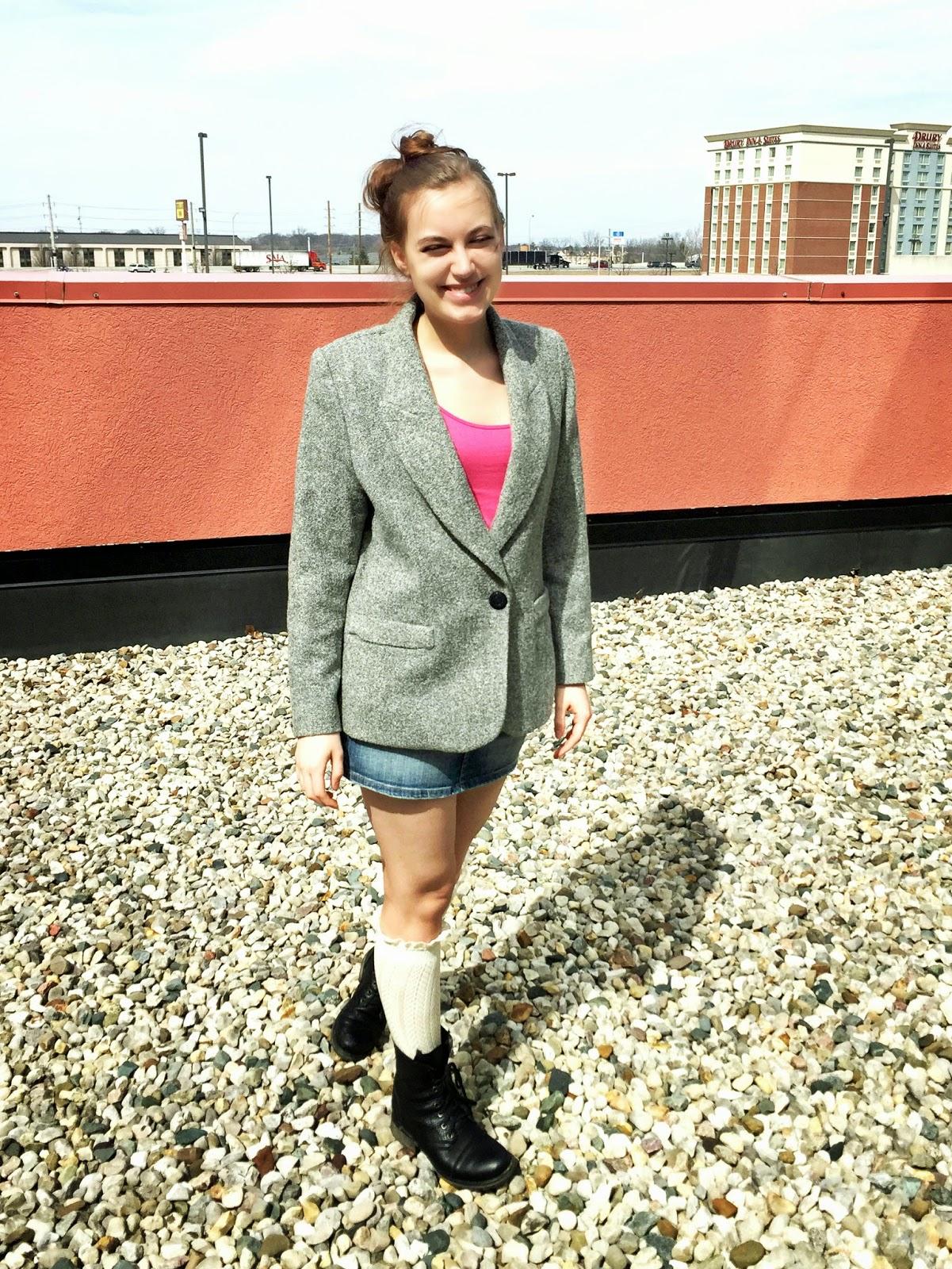 woolen-blazer-blogger