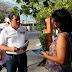 Manuel Díaz se compromete a atender las necesidades e inquietudes de los ciudadanos