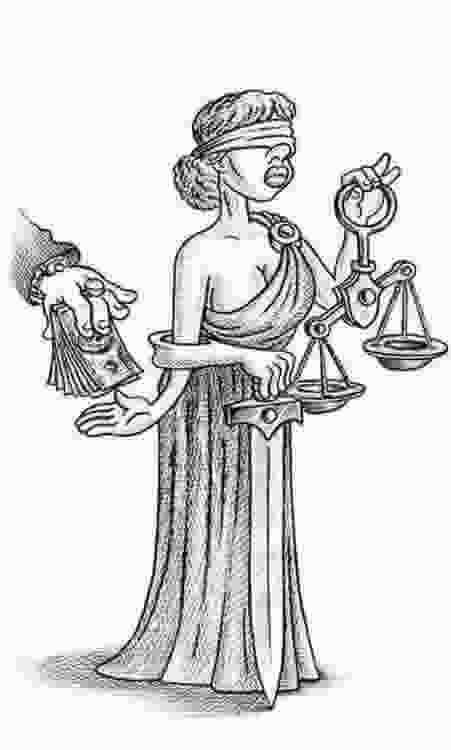 Corrupción de la justicia