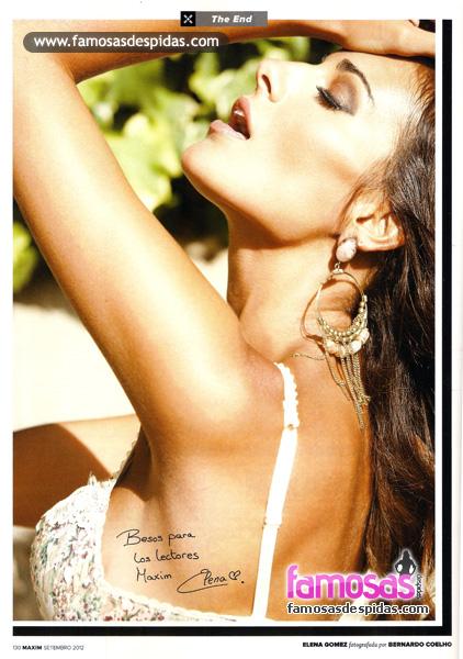 Fotos de Elena Gomez nua na Maxim Portugal