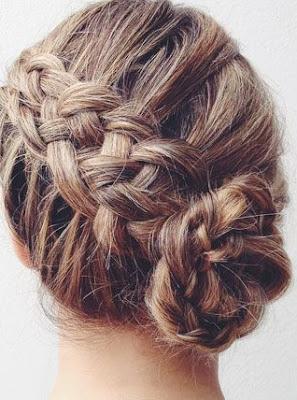 La moda en tu cabello peinados recogidos con trenzas 2016 - Peinados recogidos con trenzas ...