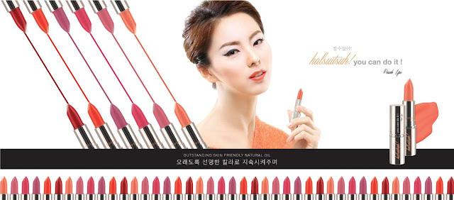 Sarange Nikkeoya, si Lipstik Ungu Violet