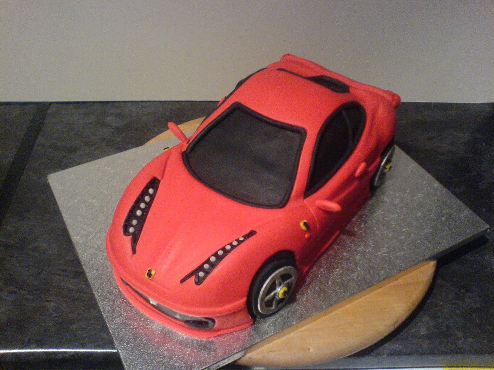 Porsche Cake Car Wwwonceuponacakecomau