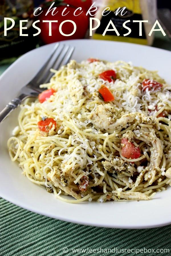 Leesh & Lu's Recipe Box: Chicken Pesto Pasta