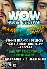 WOW Music Festival. Don't miss it!