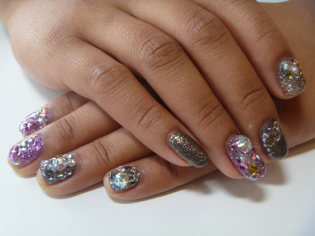 psycho bella fun nails blinged