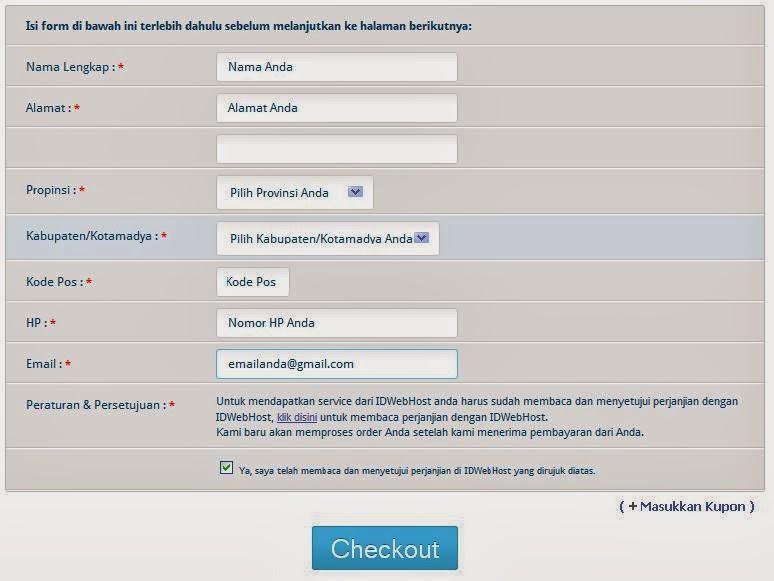 cara membeli domain gratis