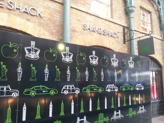 Shake Shack Covent Garden Hoardings